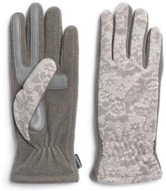 Isotoner Women's SmartDRI Stretch Fleece Tech Gloves