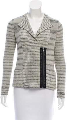 White + Warren Long Sleeve Knit Cardigan