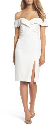 Women's Bardot Bella Midi Dress $119 thestylecure.com