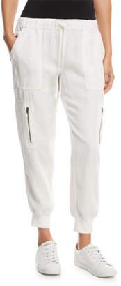 Joie Florimel Six-Pocket Linen Jogger Pants