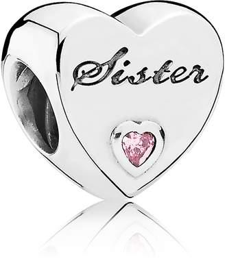 Pandora Sister's Love Heart Charm