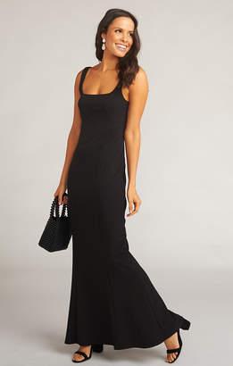 Show Me Your Mumu Belinda Dress ~ Crepe Stretch Black