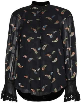 Chloé Paisley silk blend blouse