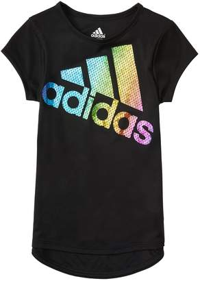 adidas Girls 4-6x Colors Ignite Logo Tee