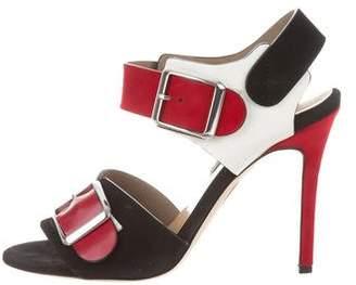 Chrissie Morris Ida Leather Sandals w/ Tags