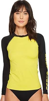 Body Glove Women's Push It Long Sleeve Rashguard with UPF 50+ Sun Protection