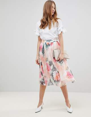 Y.a.s Printed Full Skirt Co-Ord
