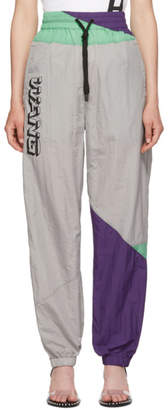Alexander Wang Grey Wash and Go Colorblock Lounge Pants