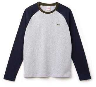 Lacoste Men's LIVE Bicolor Jersey T-shirt