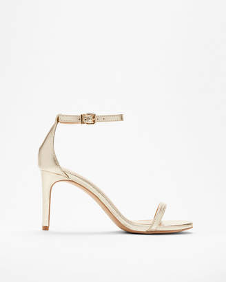 Express Skinny Strap Mid Heeled Sandals