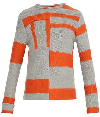 Eckhaus Latta Anxiety Relief Wool Knit Sweater - Mens - Multi