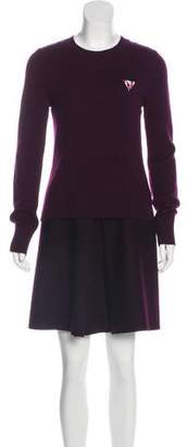 Victoria Beckham Victoria Knee-Length Sweater Dress
