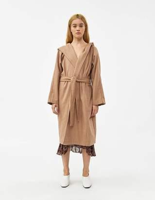 Farrow Julie Felt Wrap Coat in Camel