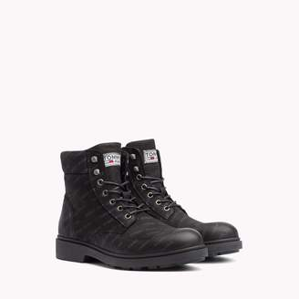 Tommy Hilfiger Tommy Jeans Leather Work Boot