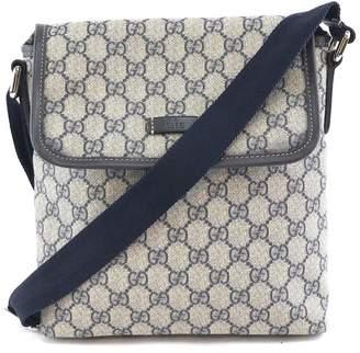 Gucci Supreme Gg Guccissima Small Shoulder Beige Coated Canvas Messenger Bag