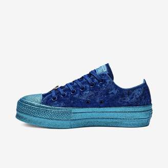 Converse x Miley Cyrus Chuck Taylor All Star Lift Velvet Low Top Women's Shoe