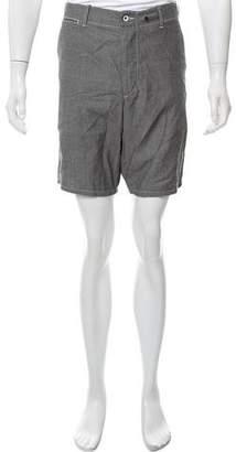 Rag & Bone Woven Flat Front Shorts