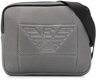 Emporio Armani perforated logo belt bag