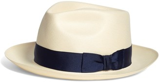 Brooks Brothers Straw Fedora