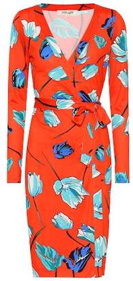 e868bd823b7 Diane von Furstenberg Julian silk jersey wrap dress