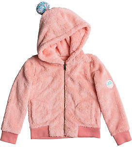 Roxy NEW ROXYTM Girls 2-7 Good Vs Bad Zipped Hoodie Girls