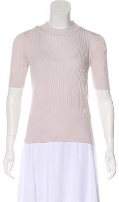 Maison Margiela Knit Three-Quarter Sleeve Top