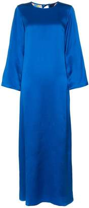 Rianna + Nina Printed Sleeves Maxi Dress
