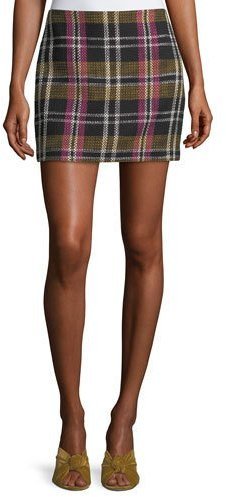 Trina Turk Rico Plaid Mini Skirt