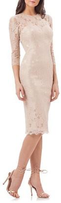 Women's Js Collections Lace Sheath Dress $178 thestylecure.com
