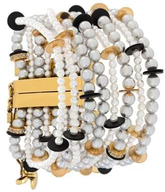 Camila Klein faux-pearl bracelet