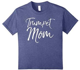 Trumpet Mom Shirt Proud High School Marching Band Mother Tee