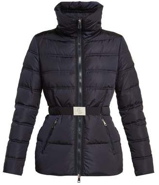 Moncler Alouette Quilted Nylon Jacket - Womens - Navy