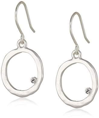 Kenneth Cole New York Tone Circle Earrings