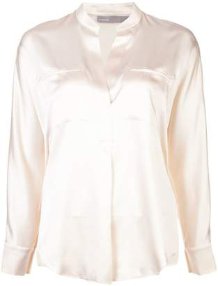 Vince slit detail blouse