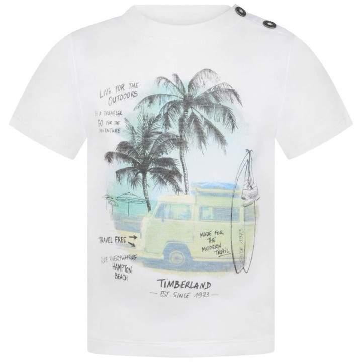 TimberlandBaby Boys White Hampton Beach Top