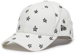New Era Smfk x star embroidered canvas baseball cap