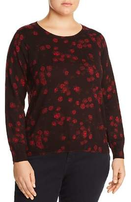MICHAEL Michael Kors Eden Rose Print Sweater