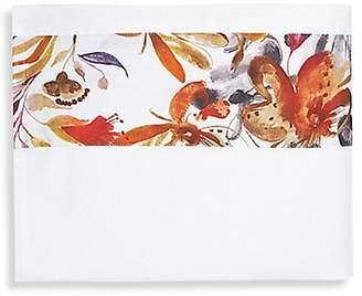 Sferra Este Floral-Print Flat Sheet