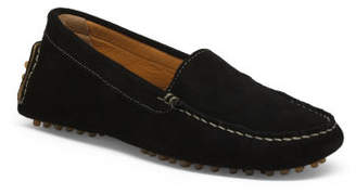 Made In Italy Suede Driver Moccasins