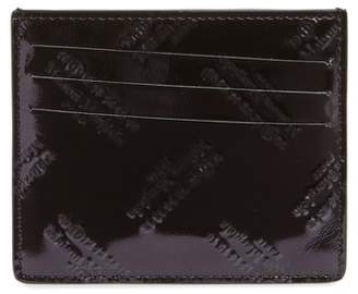 Maison Margiela Embossed Card Holder