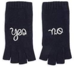 Portolano Yes No Cashmere Fingerless Gloves