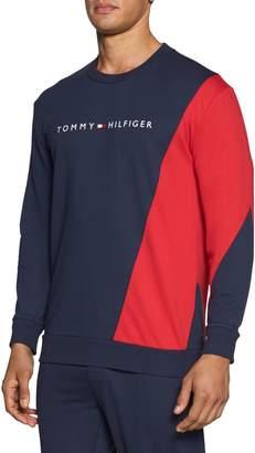 Tommy Hilfiger Logo Detail Crew Neck Sweatshirt
