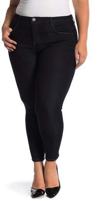 Democracy High Rise Tummy Control Ankle Skinny Jeans (Plus Size)