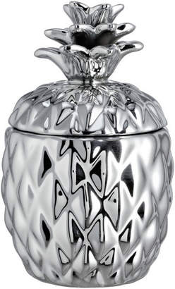 H&M Large candle in a ceramic pot - Silver
