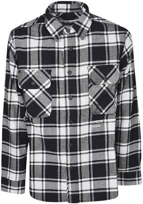 Off-White Flap Pocket Collared Shirt