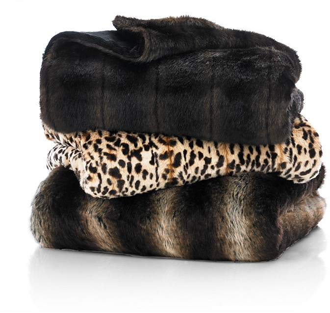 Shopping For Faux Fur Throws Blankets And Pillows