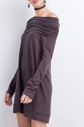 Easel Cowl Sweater Tunic