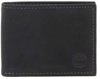 Timberland Nubuck Slimfold Leather ID Wallet