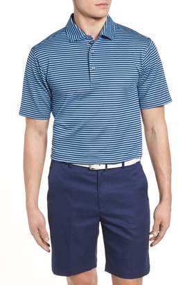 Bobby Jones XH2O Feed Stripe Stretch Golf Polo