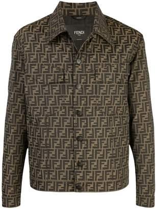 Fendi FF motif shirt jacket